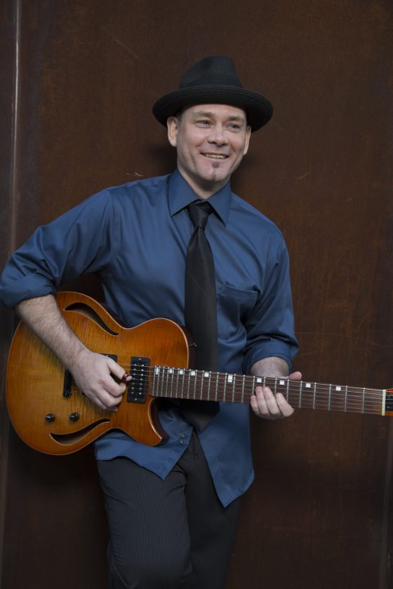 Jazz Guitarist, Adam Smale